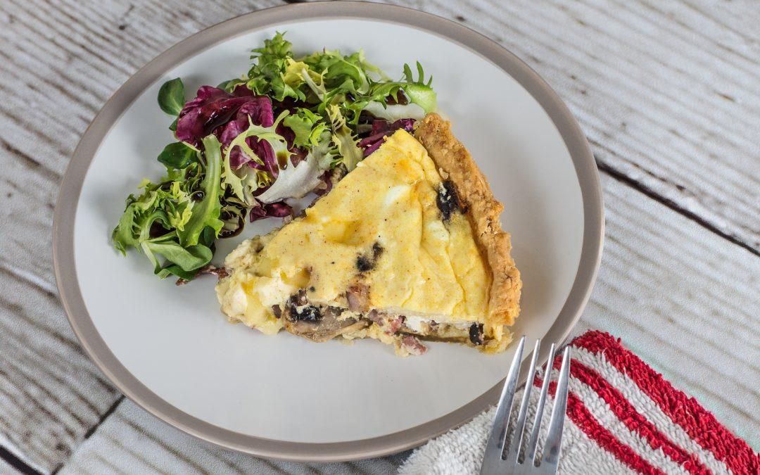 Pâte à tarte healthy et easy !